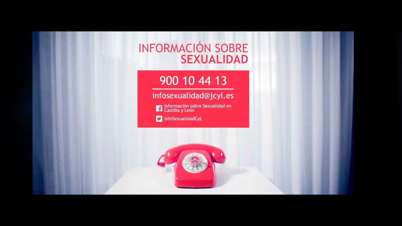 Teléfono Afectivo Sexual. Junta de CyL