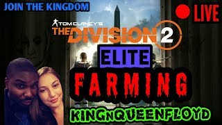 [ LIVE ] THE DIVISION 2 * ELITE HOW TO FARM TIPS * JOIN FRIDAY PRO PLAYER PS4