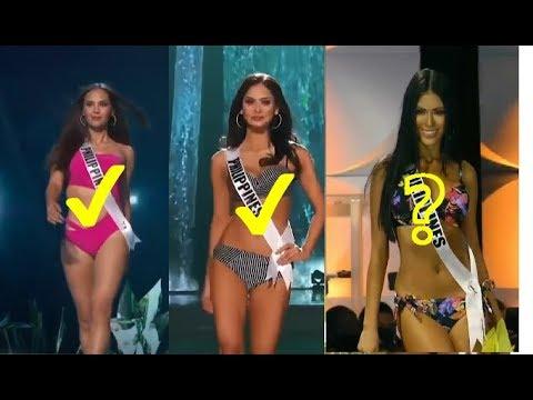 PiA Vs Catriona Vs Gazini Swimsuit Miss Universe Preliminary Competition