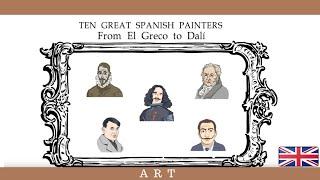 Spanish painters: 10 great Spanish painters