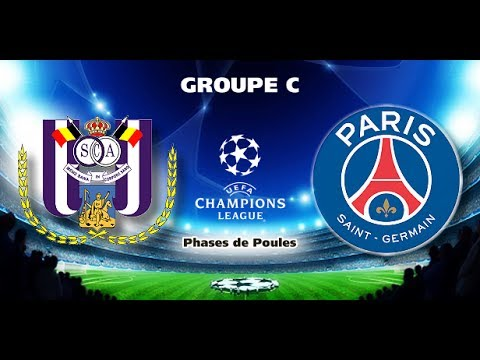 Prediksi Paris Saint Germain vs RSC Anderlecht : Rabu, 1 November 2017