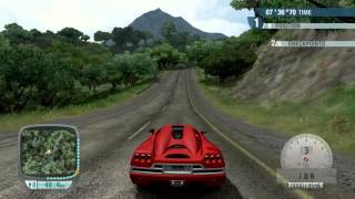 Test Drive Unlimited - Island Tour 34:55:76 Koenigsegg CCR