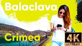 Drive 4K  Crimea – Balaclava beautiful views