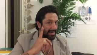 Rafael Amargo a Barletta per la sua nuova collezione moda