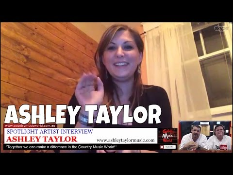 Ashley Taylor (USA) Interview with Mick & Jay - Country Music World