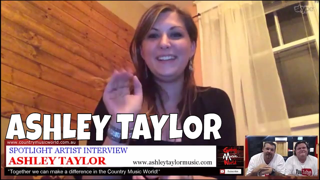 Ashley Taylor Interviewed By Country Music World