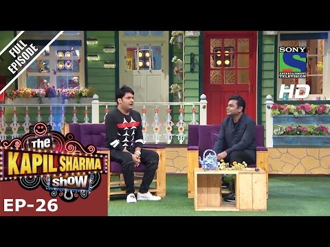 The Kapil Sharma Show - दी कपिल शर्मा शो–Episode 26-Music Maestro A.R Rahman –17th July 2016