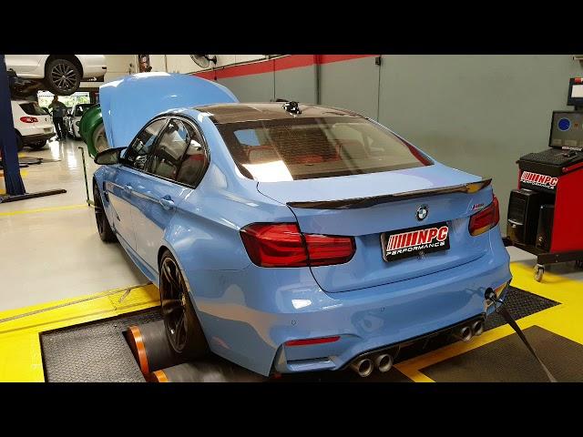 BMW M3 F80 - Reprogramação da Central de Injeção Stg2 + em bancada by NPC PERFORMANCE.