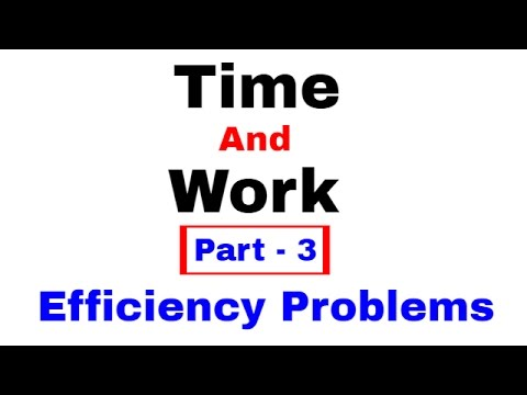 Time And Work Problems Shortcuts and Tricks [In Hindi] Part - 3