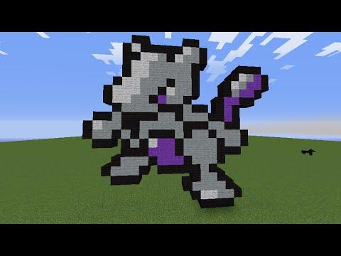 pixel pokemon minecraft mewtwo easy