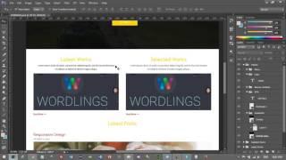Web Tasarımı Dersleri : HTML5 - Ders17: Proje 1 Bölüm2 - PSD' den HTML' e