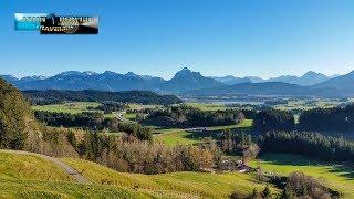 Allgäu Umgebung Füssen Landschaft in 4K
