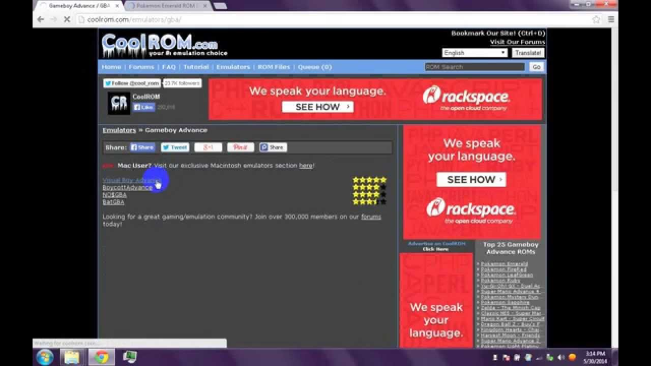 how to download games in coolrom - YouTube