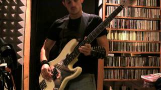 IRON MAIDEN - Wasted Years Bass Cover