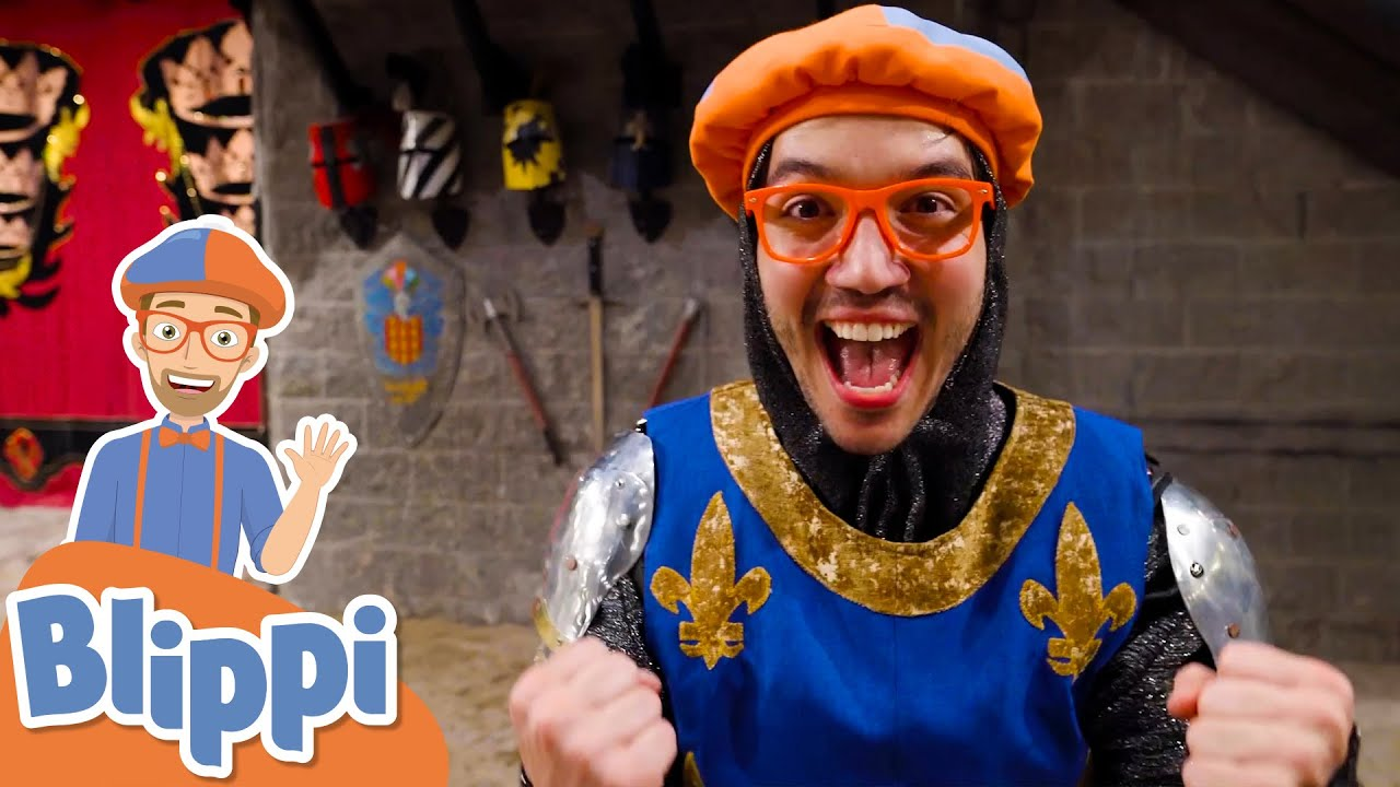 Blippi Explores A Castle! | Learn History For Kids | Educational Videos For Toddlers
