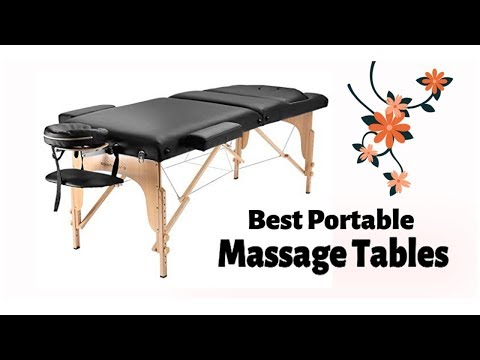 Top 10 Best Portable Massage Tables in 2020 Reviews