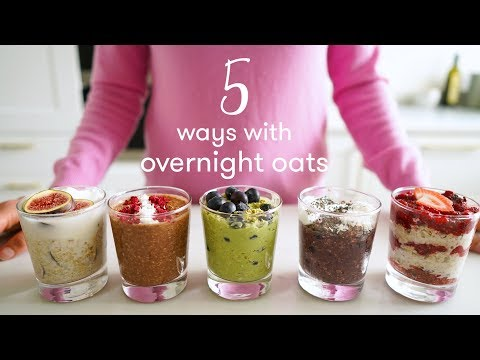 5 Delicious Overnight Oat Recipes | Madeleine Shaw