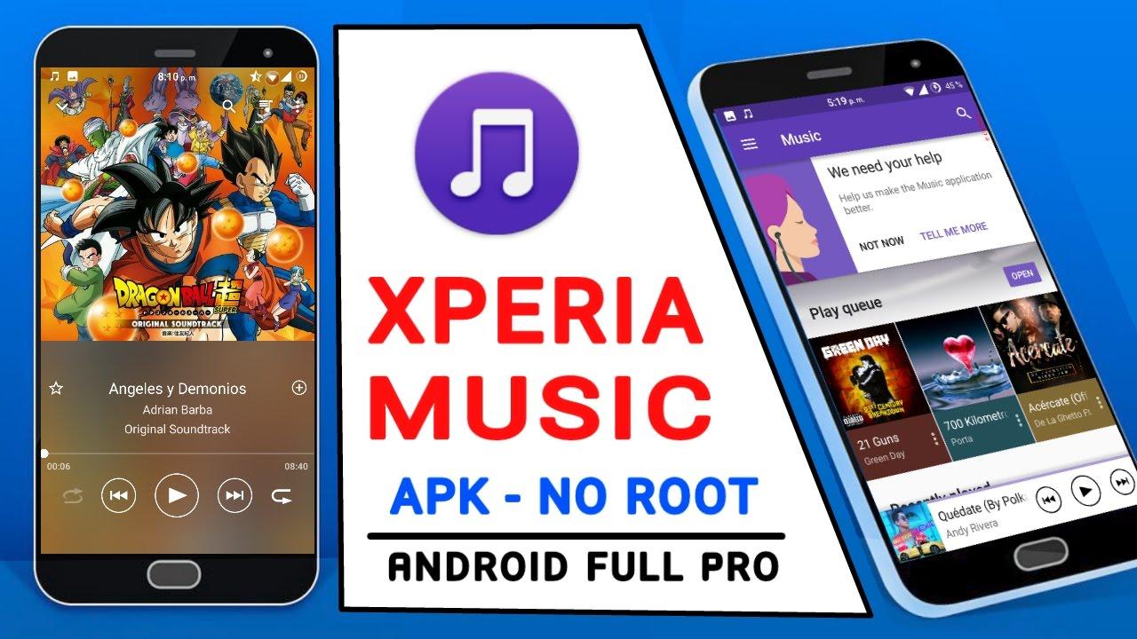 XPERIA Music v9 3 7 A 1 0 [Mod] [APK] Compatible Con Todos Los Dispositivos  - 2017