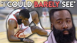 James Harden SCARY Eye INJURY!! A Doctor's Take