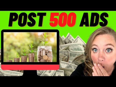 500 Classified Ads | Free Advertising On Autopilot