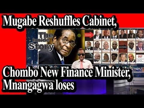 Mugabe reshuffles Cabinet, Chombo New Finance Minister, Mnangagwa loses INSIDE STORY