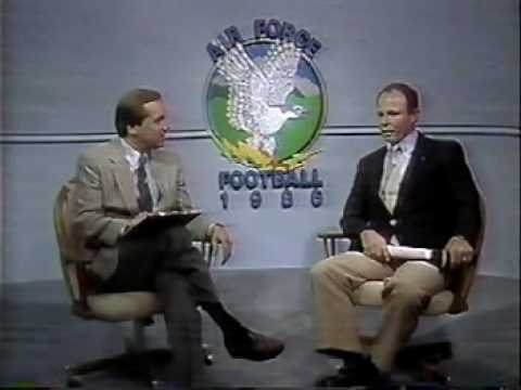 1986 Air Force Falcons CSU 2nd Half, Dave Kellogg & Sports Info Dept., Ralph Routon, Coach Jim Grobe (Part 9)