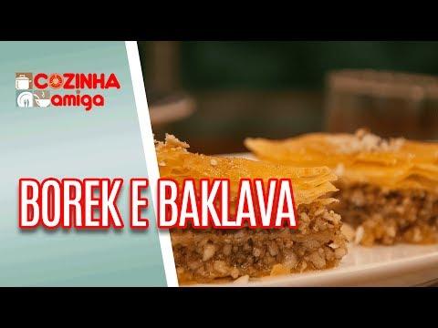 Borek E Baklava- Raquel Novais | Cozinha Amiga (28/05/18)