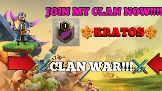 Clash of Clans (⚔️clan war day⚔️)