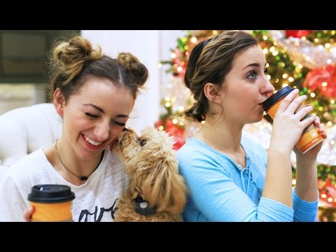 Hot Cocoa Run | 12 Days of Vlogmas {Day 1} | Brooklyn and Bailey