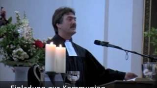 Friedrichshain: Liturgie Heiliges Abendmahl vor der evangelischen Bischofswahl in Berlin
