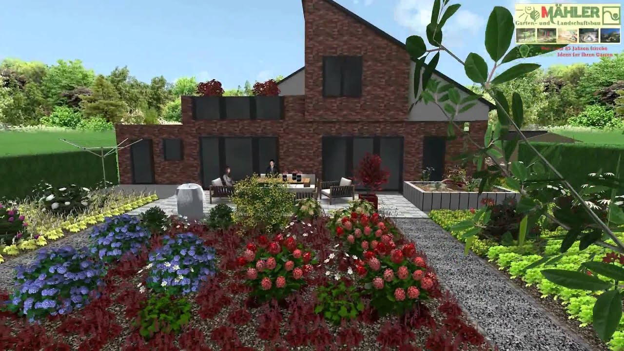 3d gartenplanung gartenplanung kleve galabau m hler gartenplan in 3d traumgarten youtube. Black Bedroom Furniture Sets. Home Design Ideas