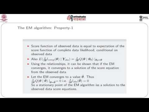 Some properties of the EM Algorithm