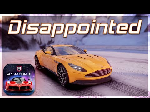 Asphalt 9: Legends - 30% Completed, 100% Disappointed