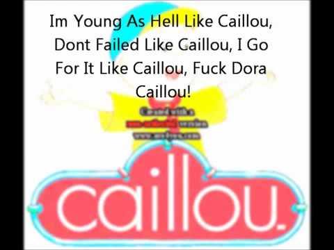 lil b Caillou Based Freestyle LYRICS
