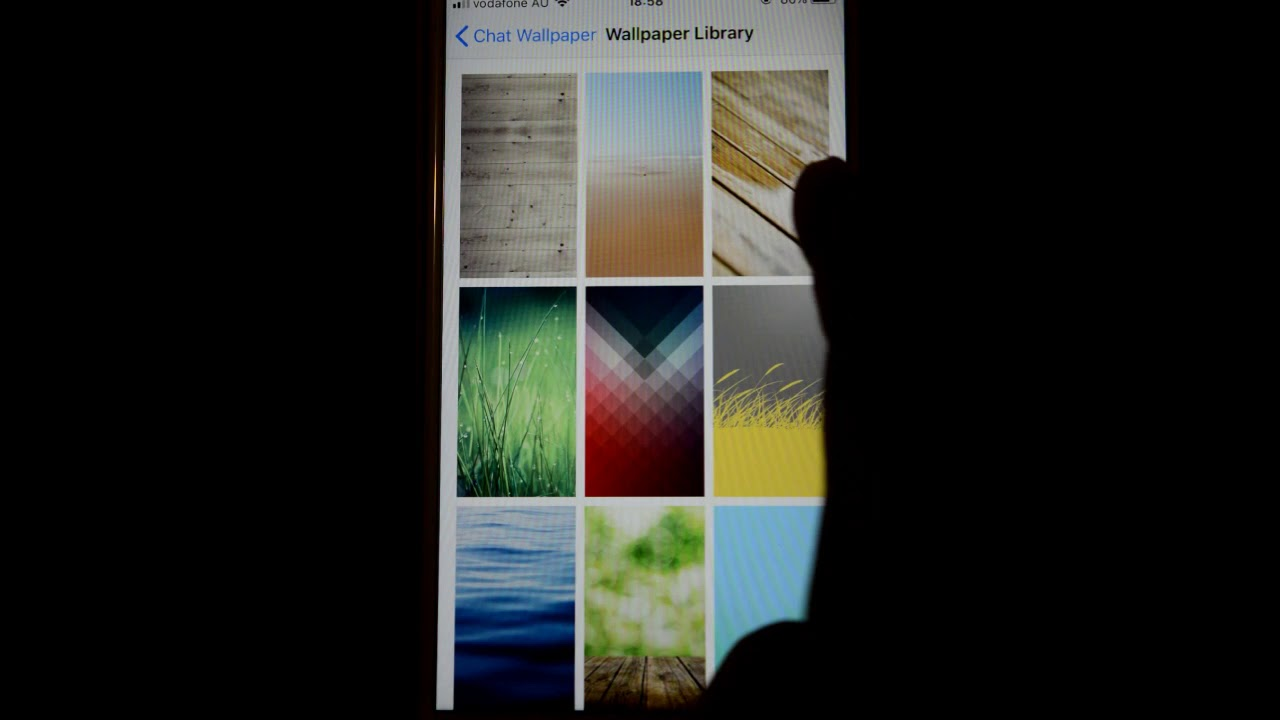 How To Change Chat Wallpaper Or Background Photo Or Background Color In Whatsapp Iphone Or Ios App