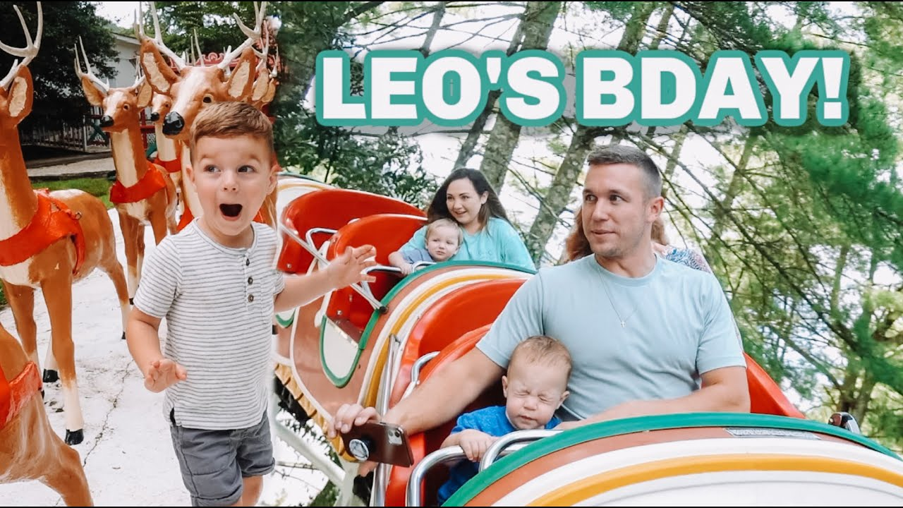 Leo's 3rd Birthday & First Rollercoaster!