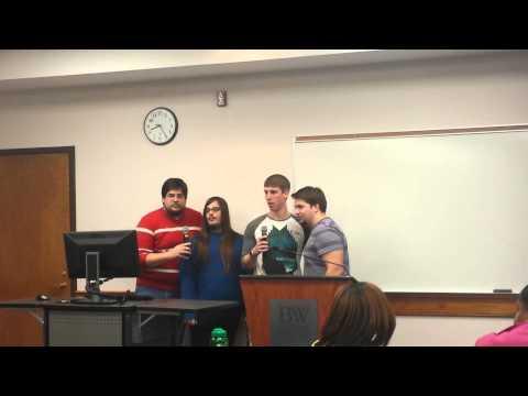 Spring 2014 RA Training - YouTube Karaoke of Bohemian Rhapsody