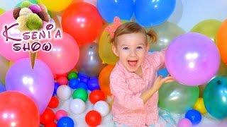 Много шариков сладостей и много конфет Ищем сюрпризы в шариках  A lot of baloons a lot of candy NEW