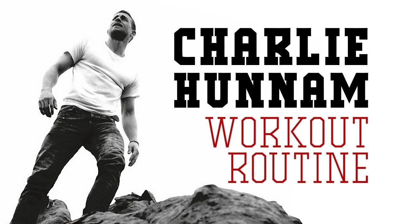 Charlie Hunnam Workout Routine | Training World - YouTube