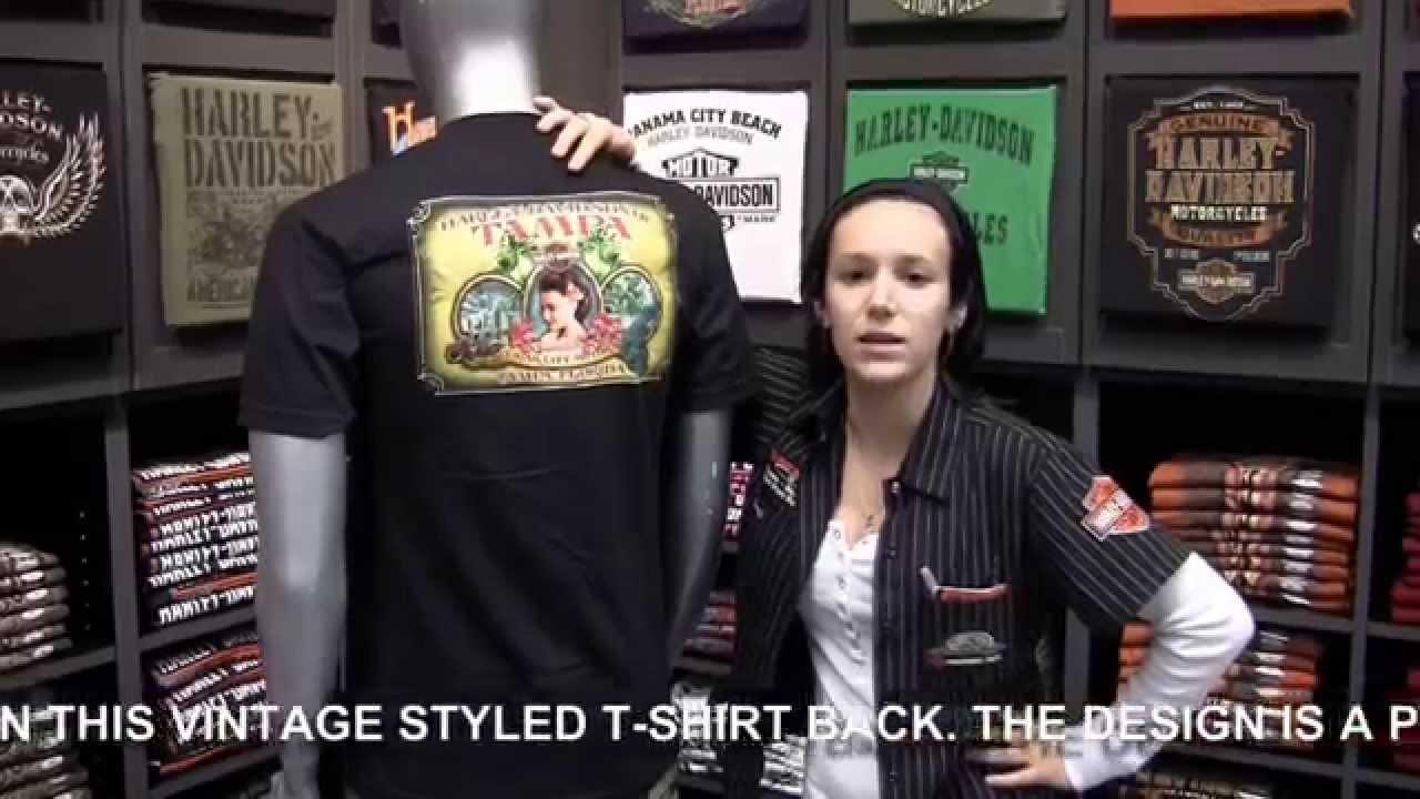 harley davidson of tampa - new cigar city inspired dealer t shirt