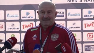 Сборная России по футболу провела в Сочи открытую тренировку Новости Эфкате