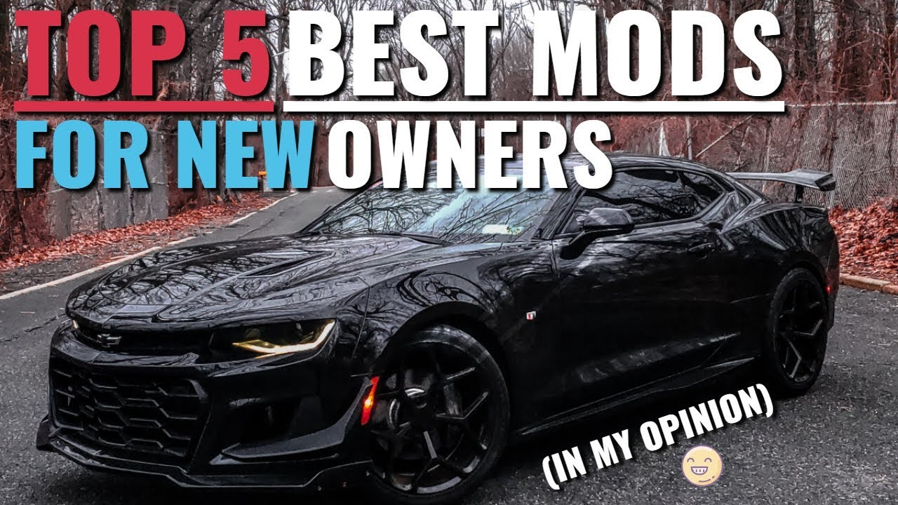 R1 Trunk Spoiler Wing For 2016-2017 Chevy Camaro SS V8 V6 Painted Gloss Black