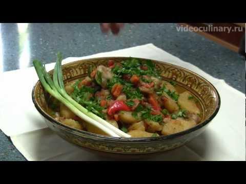 горшочке жаркое в с фото рецепт с картошкой