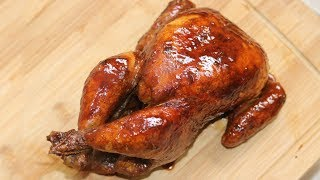 "RICE COOKER HACKS – Whole ""Roast"" Chicken Recipe (Cantonese Soy Sauce Chicken) [豉油鸡]"