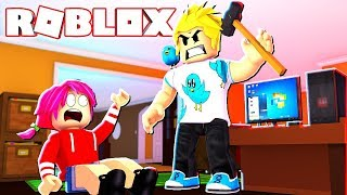 Chad and Audrey play Flee The Facility in Roblox