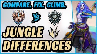 Jungle Differences: Low Elo vs Challenger (Fix Common Mistakes & Win More)