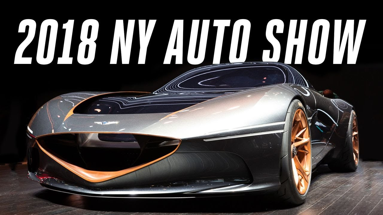 New York Auto Show Top Cars YouTube - Sports car shows near me