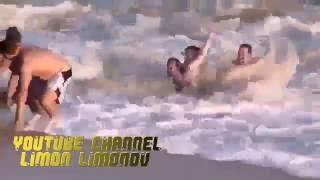 Лучший Прикол на море,четыре мужика...Ржач до слез)))