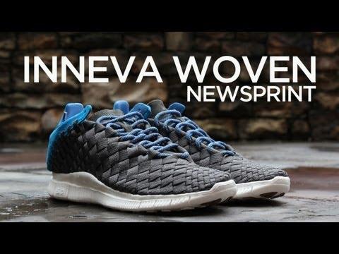 the latest 4d4d4 efc68 Review Nike Free Inneva Woven - Newsprint