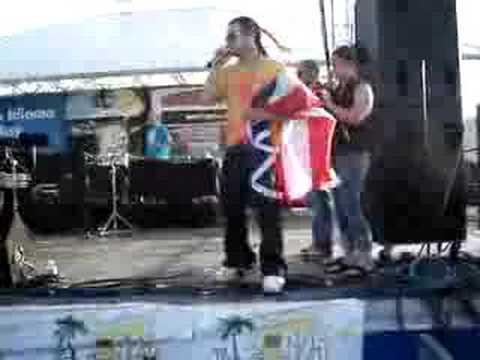 sensacion del bloque-jowell y randy en concierto
